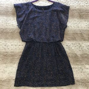 Tunic/dress with cinched waist